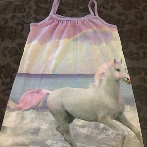 3T Unicorn nightgown by Children's Place